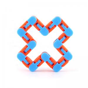 24-Knots-Blue-Orange-Wacky-Tracks-Fidget-Toys-Anti-Stress