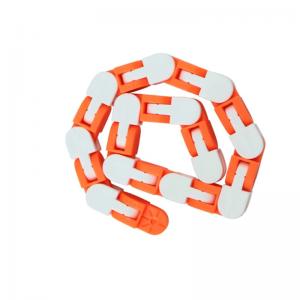 24-Knots-White-Orange-Wacky-Tracks-Fidget-Toys-Anti-Stress