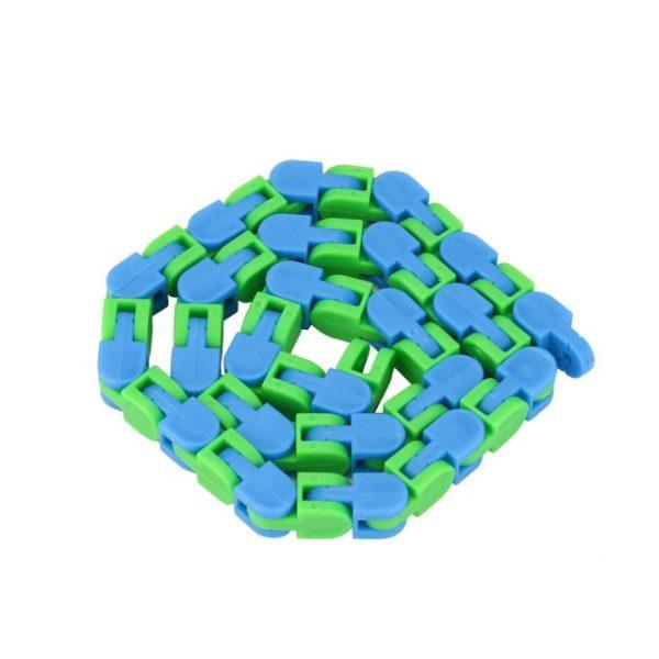 Colorful Puzzle Sensory Fidget Toys Stress Relief Rotate And Shape Wacky Tracks Snap and Click Fidget 1.jpg 640x640 1 - Wacky Track