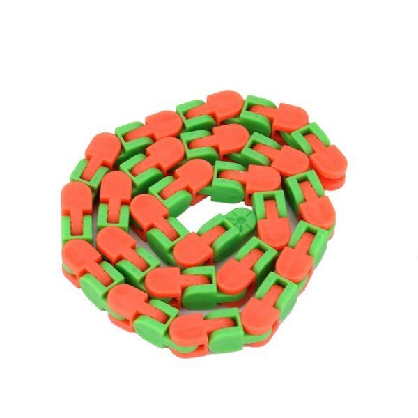 Colorful Puzzle Sensory Fidget Toys Stress Relief Rotate And Shape Wacky Tracks Snap and Click Fidget 2.jpg 640x640 2 - Wacky Track