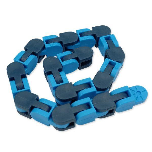 New 48 Knots Wacky Tracks Fidget Antistress Chain Toy For Children Bike Chain Stress Relief Bracelet 10.jpg 640x640 10 - Wacky Track