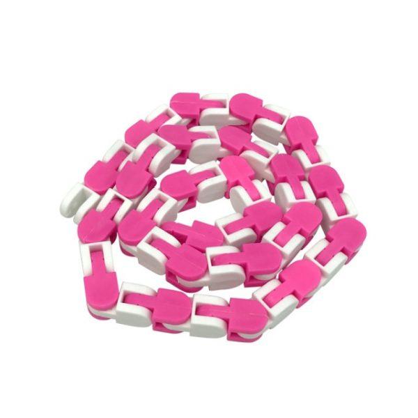 New 48 Knots Wacky Tracks Fidget Antistress Chain Toy For Children Bike Chain Stress Relief Bracelet 17.jpg 640x640 17 - Wacky Track