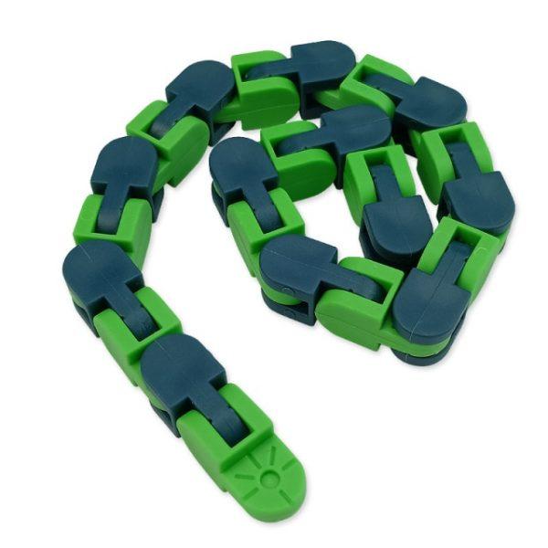 New 48 Knots Wacky Tracks Fidget Antistress Chain Toy For Children Bike Chain Stress Relief Bracelet 3.jpg 640x640 3 - Wacky Track