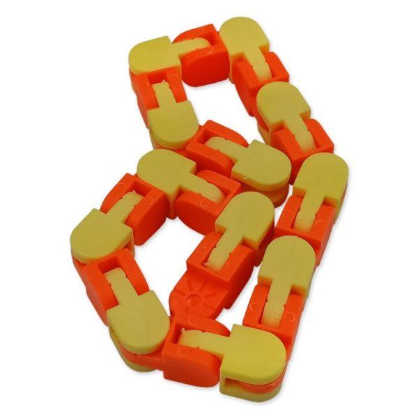New 48 Knots Wacky Tracks Fidget Antistress Chain Toy For Children Bike Chain Stress Relief Bracelet 4.jpg 640x640 4 - Wacky Track
