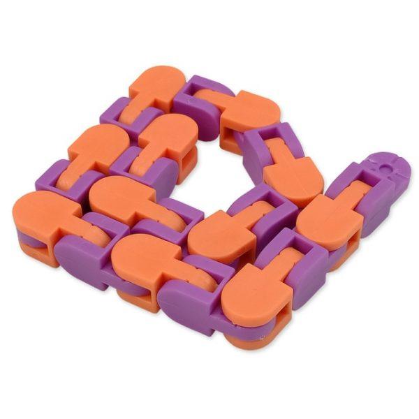 New 48 Knots Wacky Tracks Fidget Antistress Chain Toy For Children Bike Chain Stress Relief Bracelet 6.jpg 640x640 6 - Wacky Track
