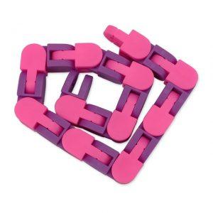 New 48 Knots Wacky Tracks Fidget Antistress Chain Toy For Children Bike Chain Stress Relief Bracelet 7.jpg 640x640 7 - Wacky Track