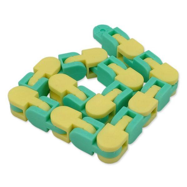 New 48 Knots Wacky Tracks Fidget Antistress Chain Toy For Children Bike Chain Stress Relief - Wacky Track