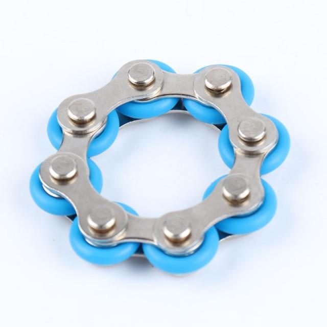 bike chain fidget 812 knots new key ring fidget toy 1470 - Wacky Track