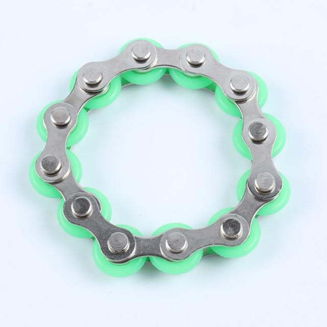 bike chain fidget 812 knots new key ring fidget toy 2740 - Wacky Track
