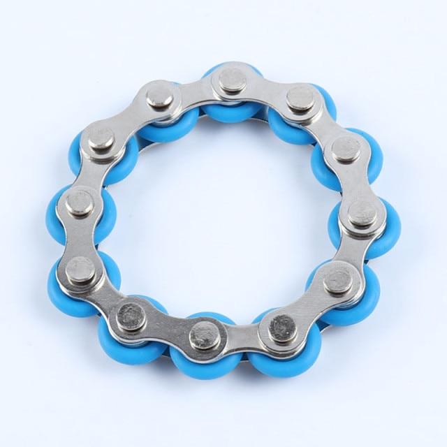 bike chain fidget 812 knots new key ring fidget toy 3462 - Wacky Track