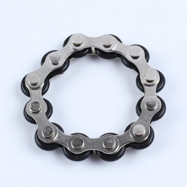 bike chain fidget 812 knots new key ring fidget toy 3788 - Wacky Track