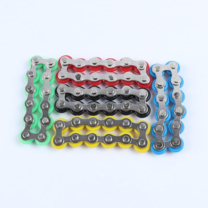 bike chain fidget 812 knots new key ring fidget toy 3927 - Wacky Track