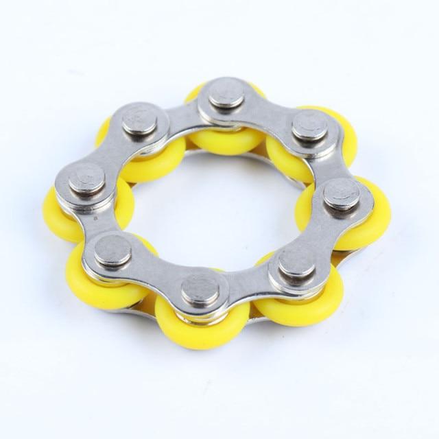 bike chain fidget 812 knots new key ring fidget toy 4758 - Wacky Track