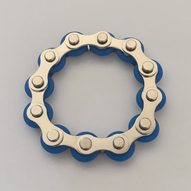 bike chain fidget 812 knots new key ring fidget toy 5172 - Wacky Track