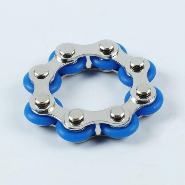bike chain fidget 812 knots new key ring fidget toy 5352 - Wacky Track