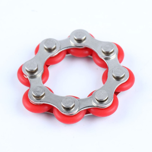 bike chain fidget 812 knots new key ring fidget toy 6398 - Wacky Track