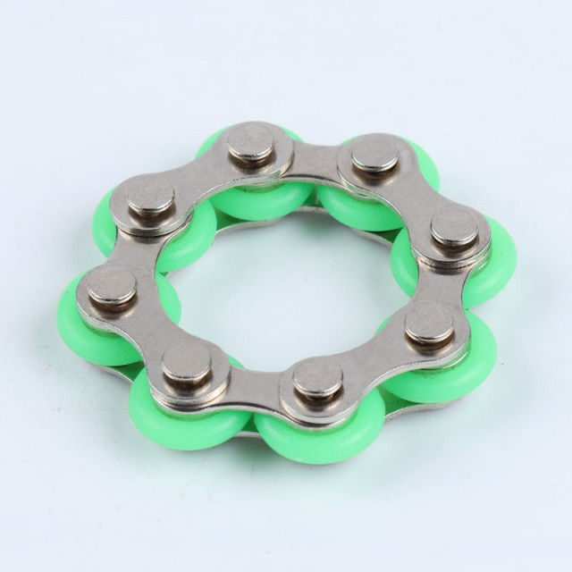 bike chain fidget 812 knots new key ring fidget toy 6941 - Wacky Track