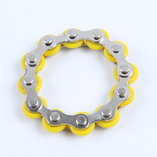 bike chain fidget 812 knots new key ring fidget toy 8370 - Wacky Track