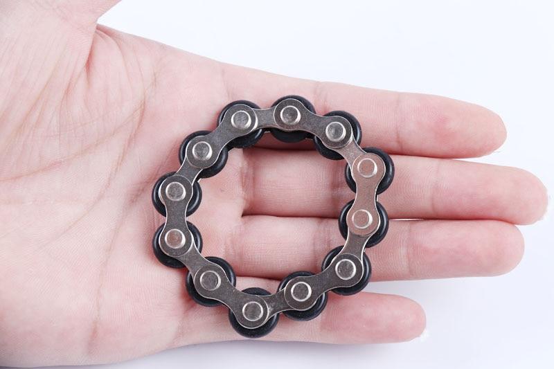 bike chain fidget 812 knots new key ring fidget toy 8747 - Wacky Track