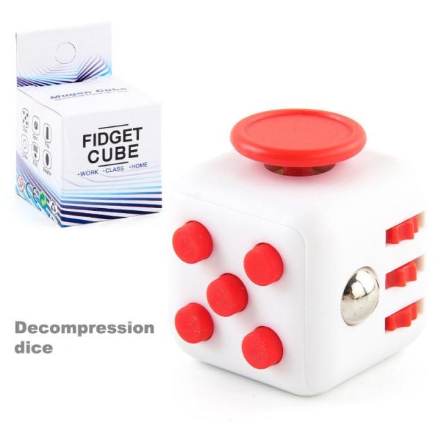 colourful cube fidget cube toy 4763 - Wacky Track