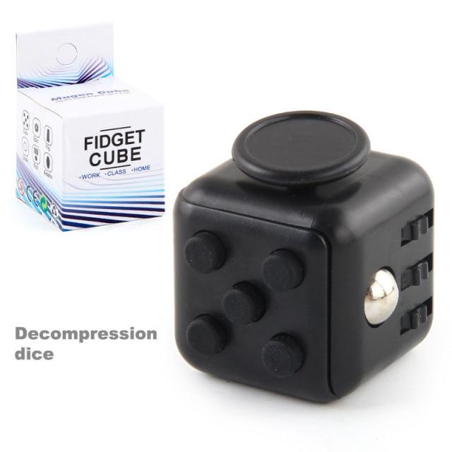 colourful cube fidget cube toy 6176 - Wacky Track
