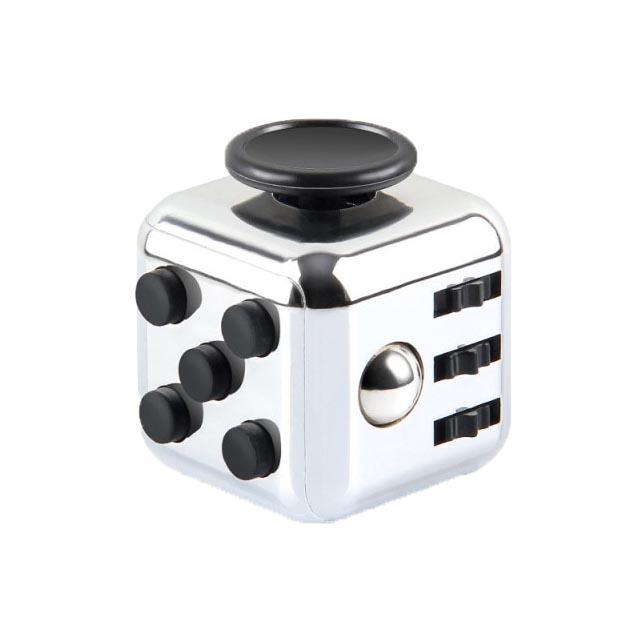 colourful cube fidget cube toy 6651 - Wacky Track