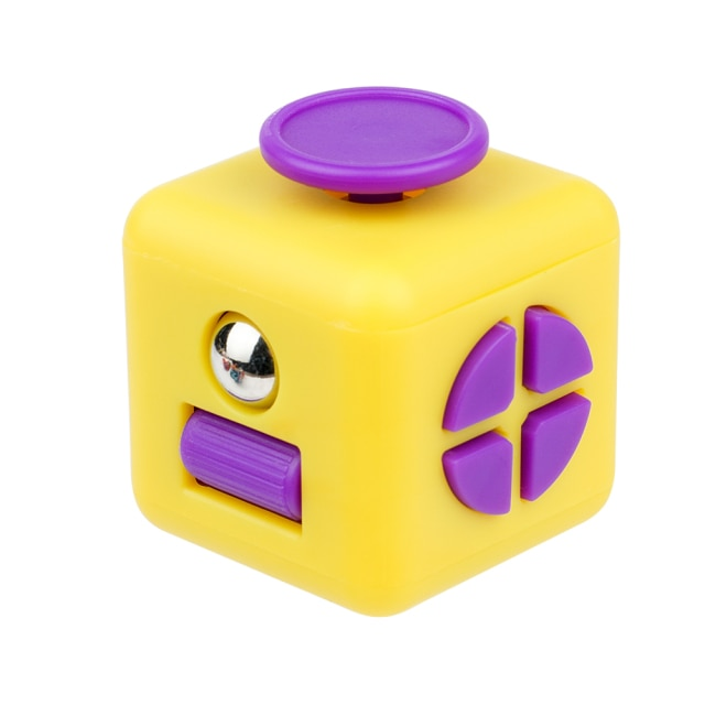fidget cube colourful cube fidget toy 2624 - Wacky Track