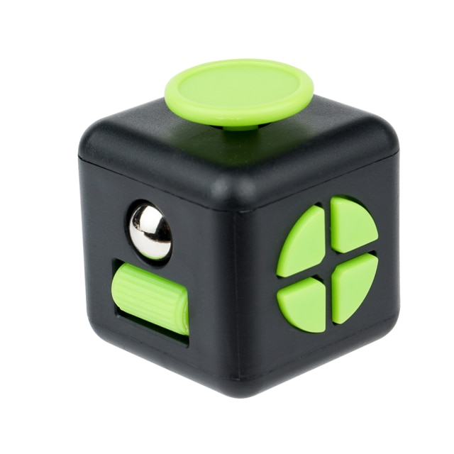 fidget cube colourful cube fidget toy 2735 - Wacky Track