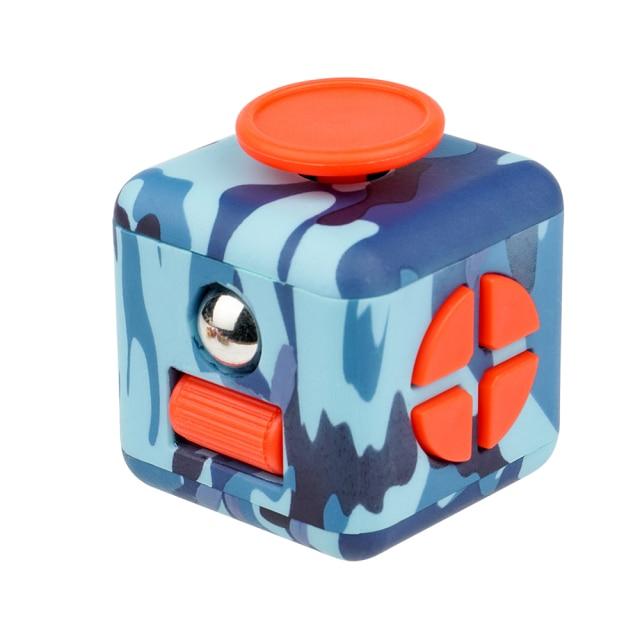 fidget cube colourful cube fidget toy 3432 - Wacky Track