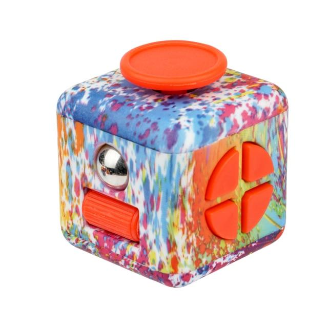 fidget cube colourful cube fidget toy 4792 - Wacky Track