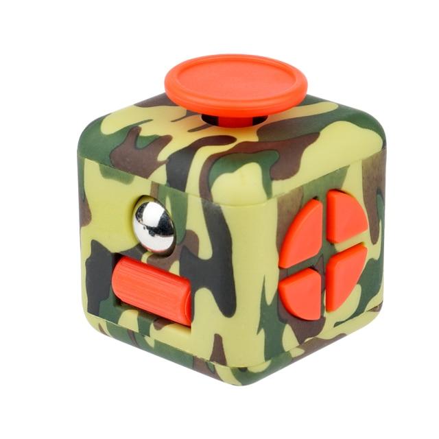 fidget cube colourful cube fidget toy 7213 - Wacky Track