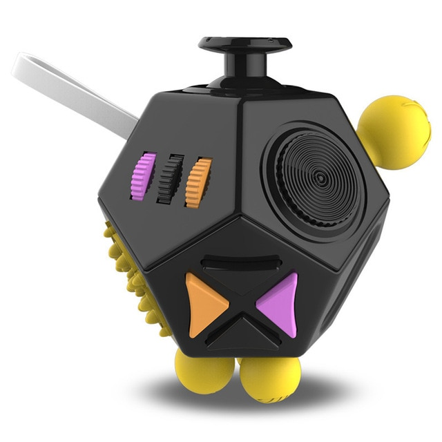 fidget cube magic polygons fidget toy 2958 - Wacky Track