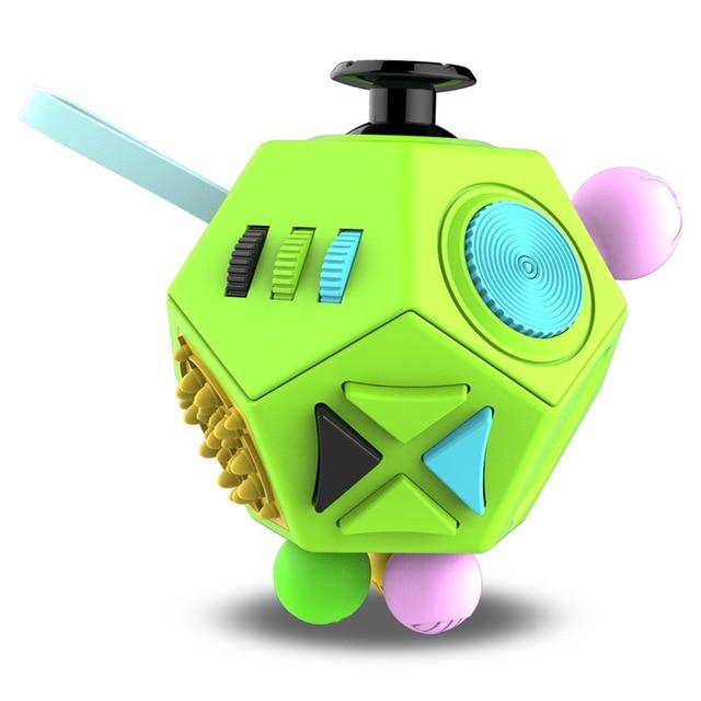 fidget cube magic polygons fidget toy 5040 - Wacky Track