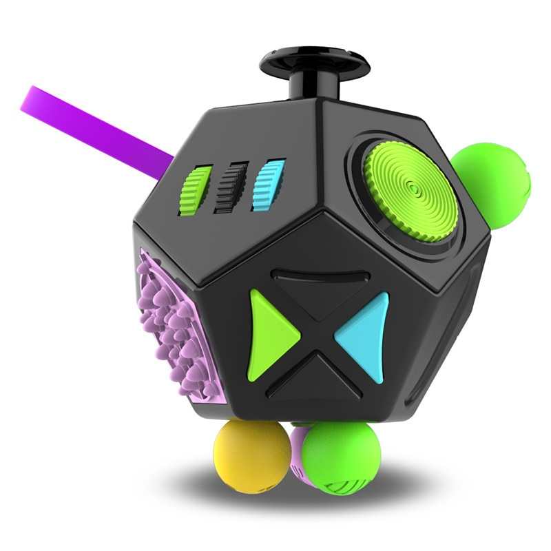 fidget cube magic polygons fidget toy 7404 - Wacky Track
