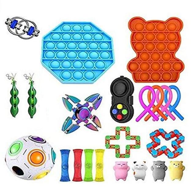 fidget pack alpha pop it toy 4417 - Wacky Track