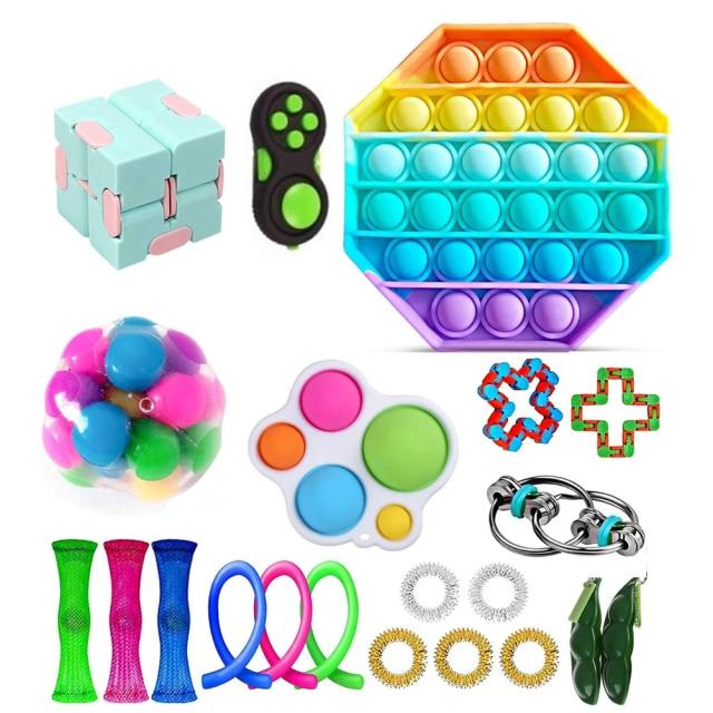 fidget pack beta pop it toy 2262 - Wacky Track