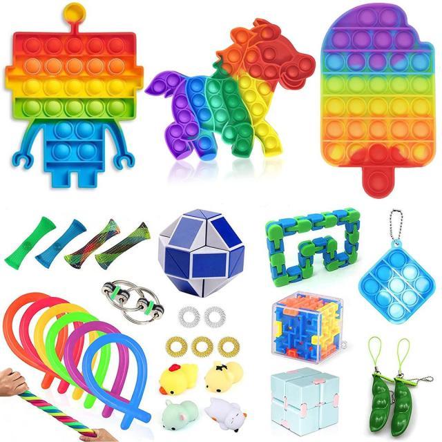fidget pack beta pop it toy 2620 - Wacky Track