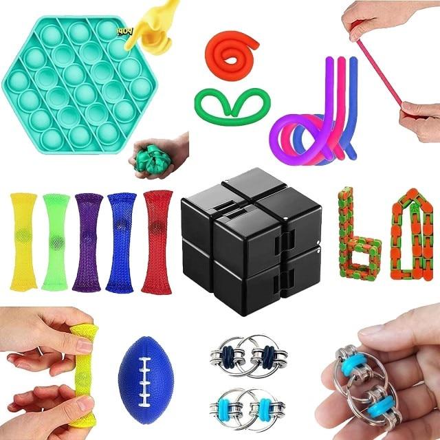 fidget pack gamma pop it toy 3380 - Wacky Track