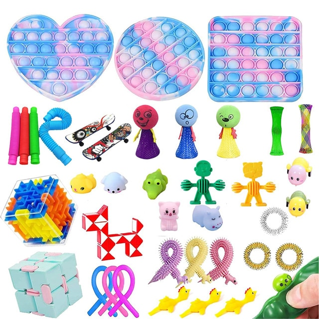 fidget pack sigma pop it fidget toy 2330 - Wacky Track
