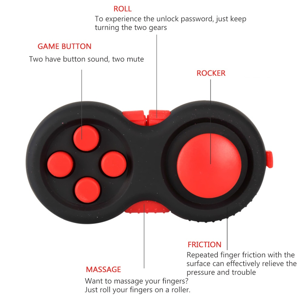 fidget pad decompression handle wireless fidget toy 1022 - Wacky Track