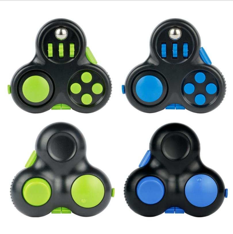 fidget pad handle controller with 10 features fidget toy 3317 - Wacky Track
