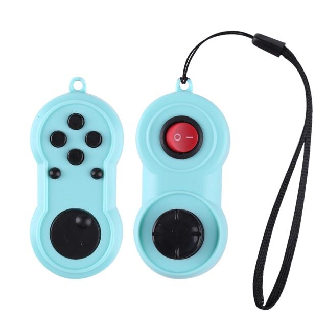 fidget pad rainbow handle controller fidget toy 8861 - Wacky Track