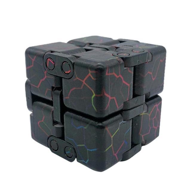 infinity cube cube block fidget toy 2011 - Wacky Track