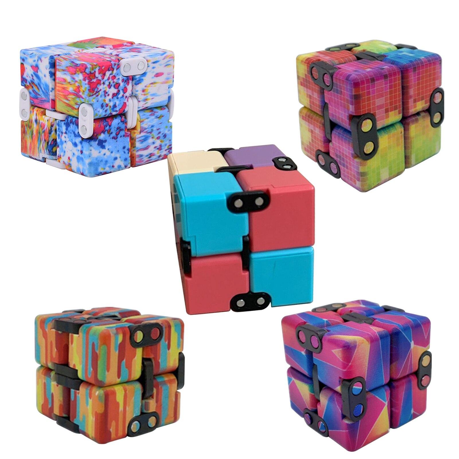 infinity cube cube block fidget toy 6643 - Wacky Track