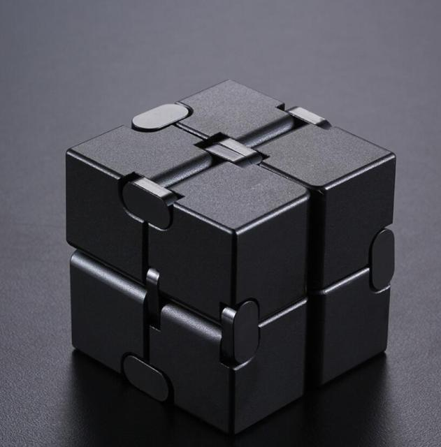 infinity cube metal cube fidget toy 2990 - Wacky Track
