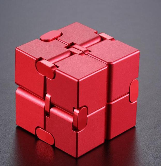 infinity cube metal cube fidget toy 3299 - Wacky Track