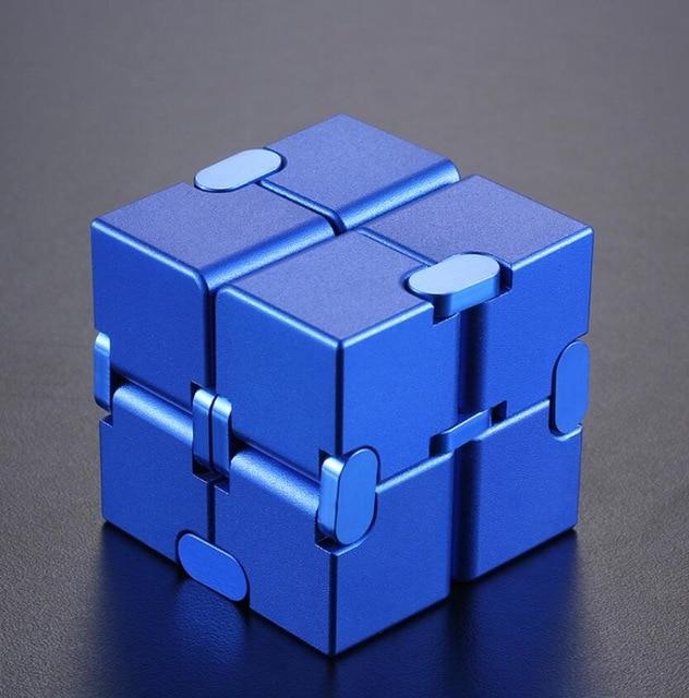 infinity cube metal cube fidget toy 4082 - Wacky Track
