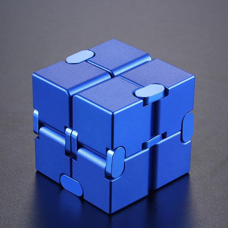 infinity cube metal cube fidget toy 5444 - Wacky Track