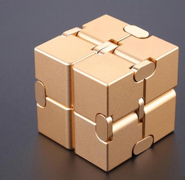 infinity cube metal cube fidget toy 6086 - Wacky Track