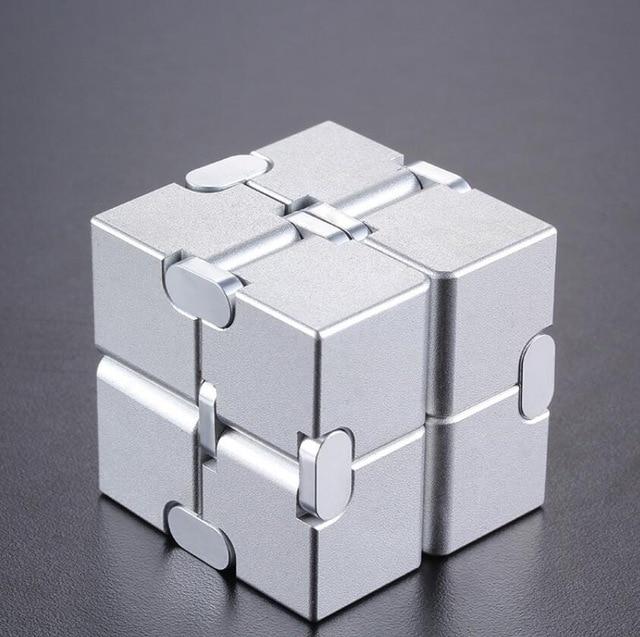 infinity cube metal cube fidget toy 8924 - Wacky Track